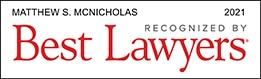 Matthew McNicholas Best Lawyer